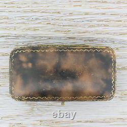 EDWARDIAN NATURAL PEARL PARROT PIN / BROOCH 22k Gold c 1910 with ORIGINAL BOX
