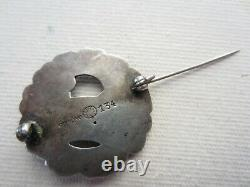 Georg Jensen Sterling Silver Dove Bird Brooch Vintage