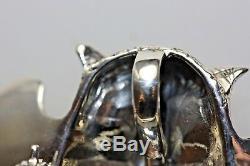 Harry Potter Solid Sterling Silver Vintage Owl Brooch Pendant