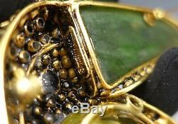 Iradj Moini Fashion Jewellery Vintage Toucan Bird Brooch Signed