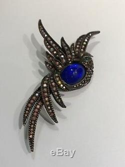 Vintage Butler And Wilson Bird Of Paradise Brooch