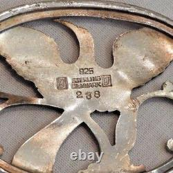 Vintage Georg Jensen Denmark Sterling Silver 925 Bird Pin or Brooch #238
