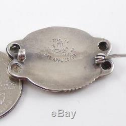 Vintage Norseland Sterling Silver Eagle Bird Swirl Pin Brooch LFD4