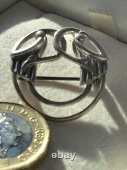 Vintage OLA GORIE-OMG ST. SIL-Sterling Silver-KELL BIRDS-Brooch/ Pin-Exquisite