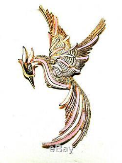 Vintage Sphinx Pheonix Firebird Brooch