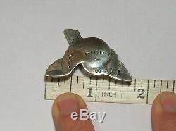 Vintage Sterling 925 Georg Jensen Flying Bird Pin Brooch Fabulous