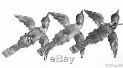 Vintage Sterling Silver Flying Birds Brooch 8.2 Grams Rare