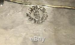 Vintage Taxco Modernist Metales Casados 3 Birds Onyx Married Metals Brooch 17.5g